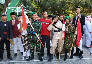 Pawai Kemerdekaan SMP Muhammadiyah 7 Surakarta