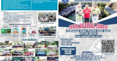 PENDATAAN MINAT PESERTA DIDIK BARU (PMPDB) 2021-2022